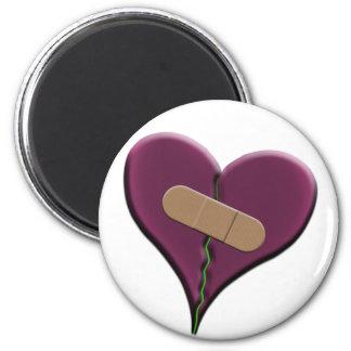 Bandaid Heart Fridge Magnet