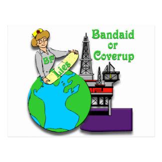 Bandaid or Coverup Postcard