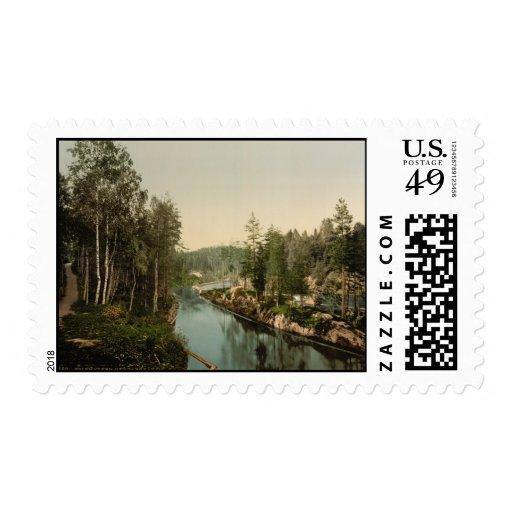 Bandak Canal, Telemark, Norway Stamps