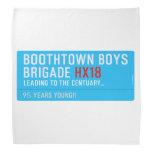 boothtown boys  brigade  Bandana