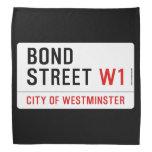 Bond Street  Bandana