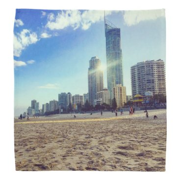 Beach Themed Bandana Beach.