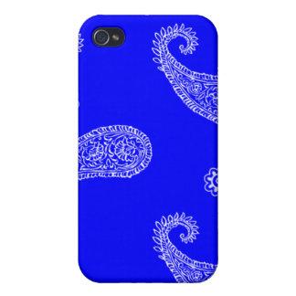 Bandana (Blue) iPhone 4 Covers