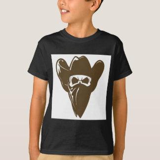 Bandana Cowboy With Hat T-Shirt