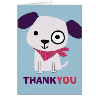 Bandana Doggy, Thank You Card