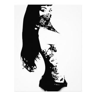 bandana girl letterhead