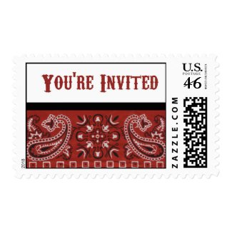 Bandana Invitation stamp
