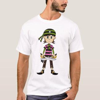 Bandana Pirate Girl T-Shirt