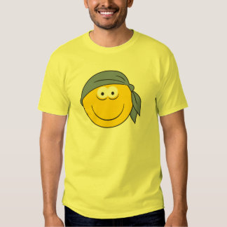 Bandana Pirate Smiley Face T-Shirt