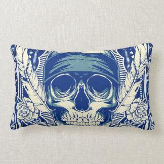 Bandana skull pillow