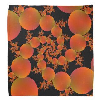 Bandana  Spiral Oranges