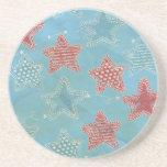 Bandana Stars Coasters