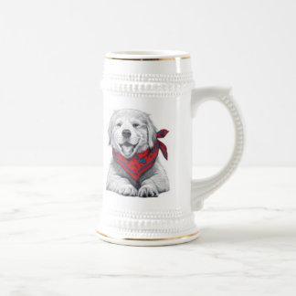 BandanaPuppy Coffee Mugs