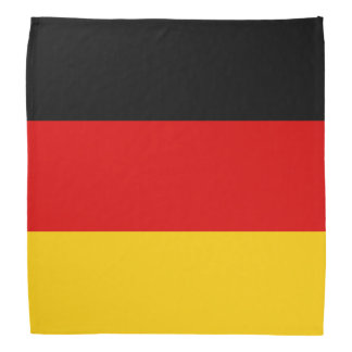 Bandanas alemanes de la bandera