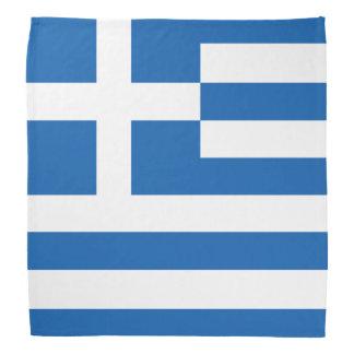 Bandanas griegos de la bandera