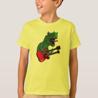 Bandas del dinosaurio - niños camisas