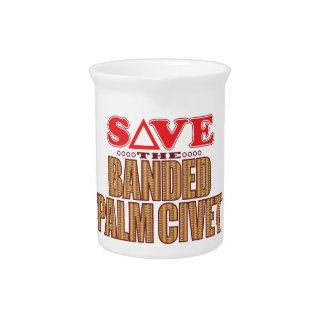 Banded Palm Civet Save Drink Pitcher