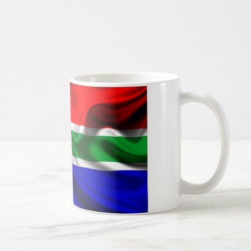 Bandeira África Taza