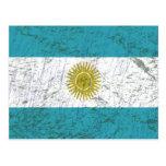 Bandeira da Argentina Cartoes Postais