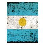 Bandeira da Argentina Papel De Carta Personalizados