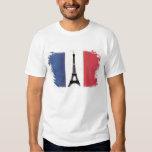 Bandeira da França Remeras