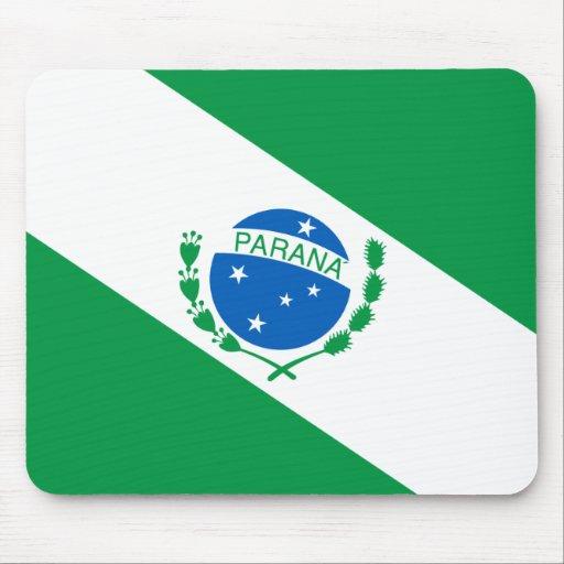 Bandeira da Paraná Brasil Mousepads