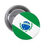 Bandeira da Paraná Brasil Pin Redondo 5 Cm