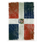 BANDEIRA DA REPÚBLICA DOMINICANA POSTALES