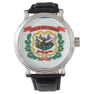 Bandeira da Virgínia Ocidental Wrist Watch