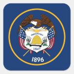 Bandeira de Utah Colcomania Cuadrada