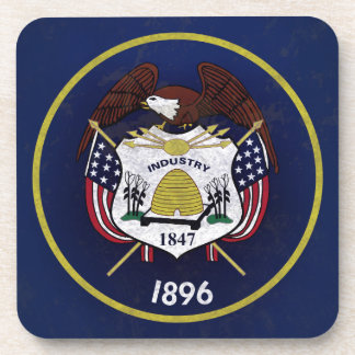 Bandeira de Utah Posavasos De Bebidas