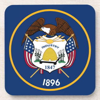 Bandeira de Utah Posavasos