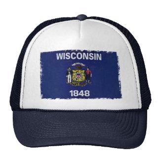 Bandeira de Wisconsin Gorras