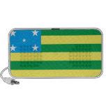 Bandeira Goias Brasil Caixinha De Som Para Notebook