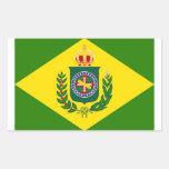Bandeira Império Adesivo Em Formato Retângular