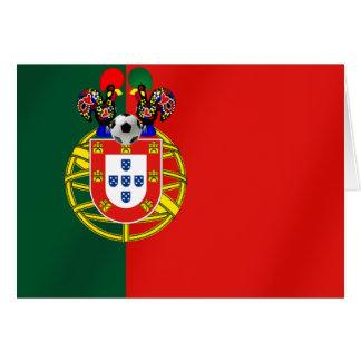 Bandeira Portuguesa Classica por Fás de Portugal Card