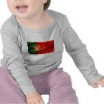 Bandeira Portuguesa - Estilo retro Camisetas