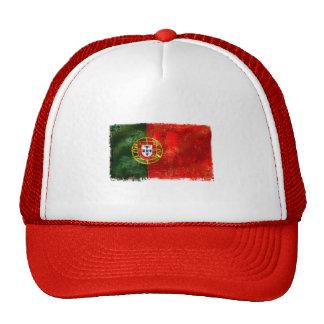 Bandeira Portuguesa - Estilo retro Gorros
