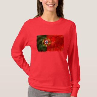 Bandeira Portuguesa - Estilo retro T-Shirt