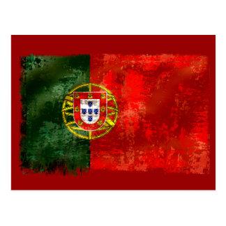 Bandeira Portuguesa - Estilo retro Postal