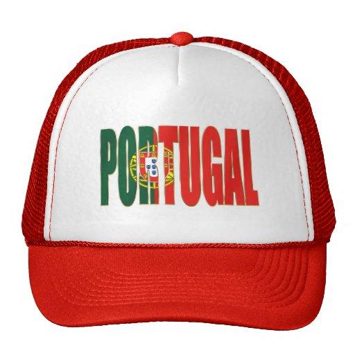 """Bandeira Portuguesa - Marca """"Portugal"""" por Fãs Mesh Hat"""