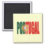 """Bandeira Portuguesa - por Fãs de """"Portugal"""" de la Imán Cuadrado"""