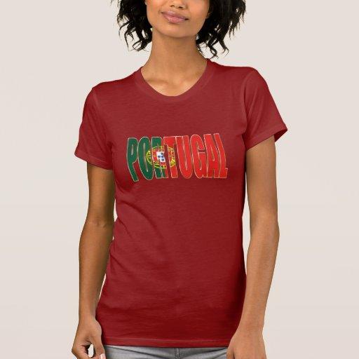 """Bandeira Portuguesa - por Fãs de """"Portugal"""" de la  Camiseta"""
