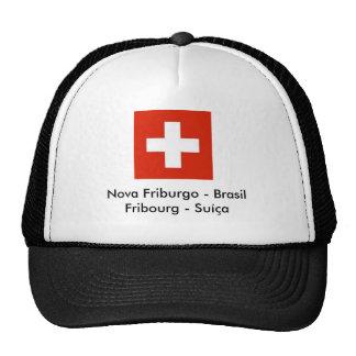 bandeira-suica-gr Nova Friburgo - BrasilFribou Boné