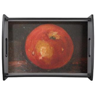 Bandeja Ana Hayes de la porción que pinta Apple