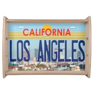 Bandeja de la porción de Los Ángeles California