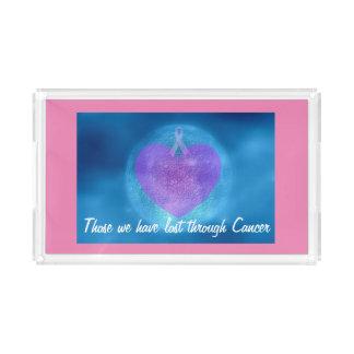 Bandeja de la vanidad en el rosa (dedicado a la bandeja rectangular