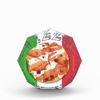 Bandeja de pizza italiana