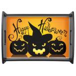 Bandeja de servicio del feliz Halloween 8