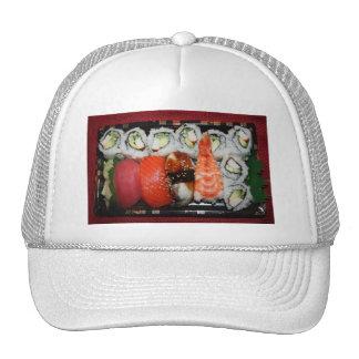 Bandeja del sushi gorros